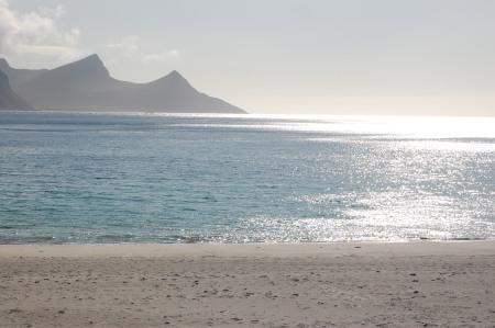 sandstränder på norrsidan