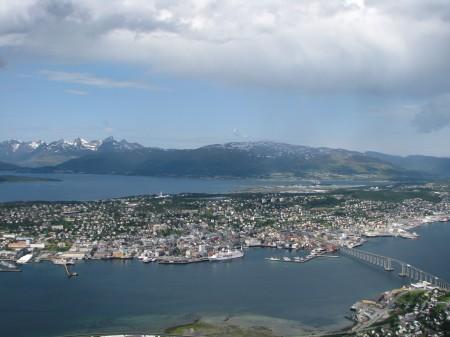 Tromsö from above