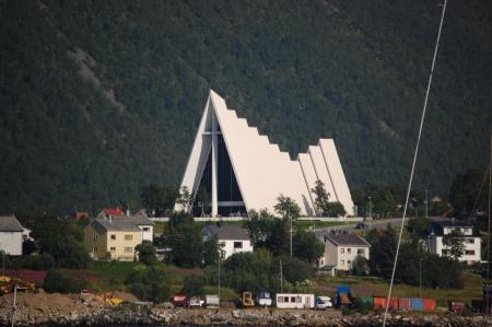 Ishavs katedralen i Tromsö
